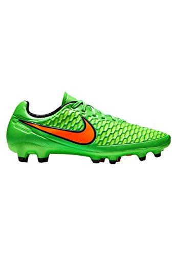 NikeMagista Orden Fg - Scarpe da Calcio uomo PSN GREEN/TTL ORNG - FLSH LM-BLK
