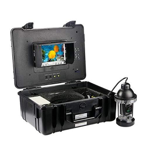 Maple Leaf Tragbare 7-Zoll-360-Grad-drehende Ibobber HD-Videokamera 18 Lichter für Unterwasserfischen Kameras für EIS, See und Bootsfischen