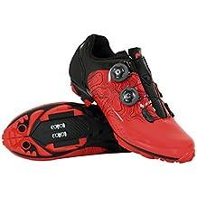 Massi 50114_ROJA, Zapatillas de Ciclismo de montaña Unisex Adulto, Rojo Rojray, ...