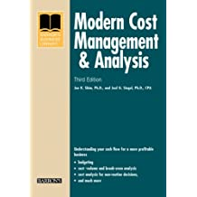 Modern Cost Management and Analysis (Business Library)