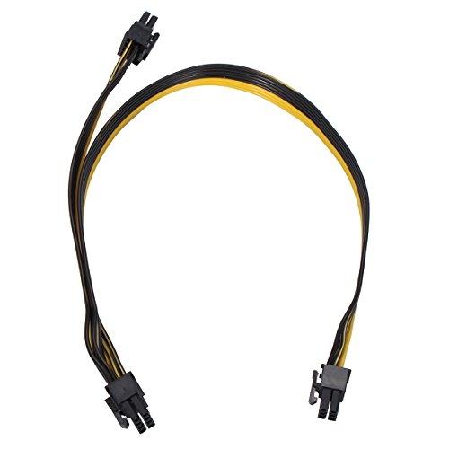 Tutoy 20Cm Pci-E 6 Pin to 8 Pin Power Cables Für Grafikkarten Platinen Adapter - 40cm 3500w Power Inverter