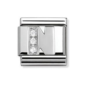 Composable Classic Stahl Cub zirc und 925 Silber N – Art.: 330301_14