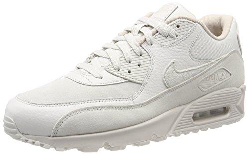 Nike Herren Air Max 90 Premium Fitnessschuhe, Mehrfarbig (Light Bone/String 013), 44.5 EU (Tennis-schuhe Strings)