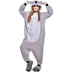 ShiyiUP Pijamas de Koala Traje Divertido de Disfraz para Halloween