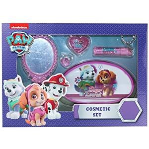 paw-patrol-pat-patrouille-cosmetic-set-1-mirror-1-ring-1-toilette-bag-1-lip-gloss-1-lip-balm