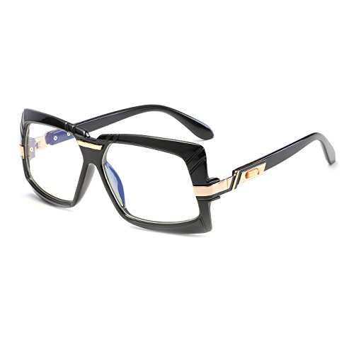 070ece628f CVOO Eyeglass Frames Retro Men Women Fashion Plain Eyeglass Spectacle  Square Frame Glasses Frame Brand Designer - Buy Online in Oman.