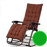 Wiegenstuhl, neigbar, für Balkon, Liege, für Erwachsene, zusammenklappbar, für Mittagessen, Siesta Leisure Antiker Stuhl (Farbe: E) - -