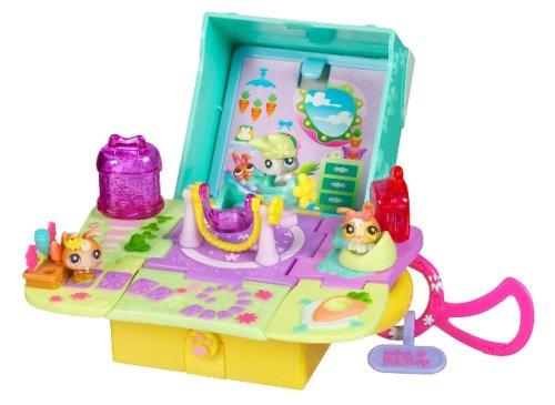 Hasbro - Poupées - Les Micro-Maisons Petshop : Bunny