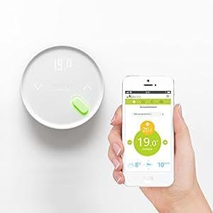 qivivo thermostat connect sans fil contact sec bricolage. Black Bedroom Furniture Sets. Home Design Ideas