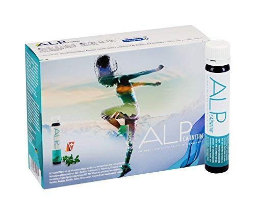 ALP CARNITIN 14x25 ml l carnitina liquida - integratori dimagranti per dieta brucia grassi fitness e perdita di peso