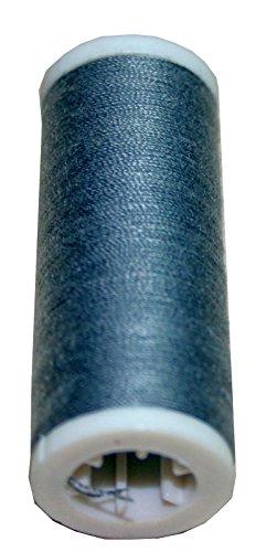 Machines à coudre bobines de fil 200 m 2 rouleaux de polyester 100 m 40/2 gris (1006 anthracite)