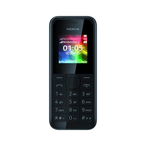 Nokia 105 - Móvil libre (pantalla LCD de 1.4
