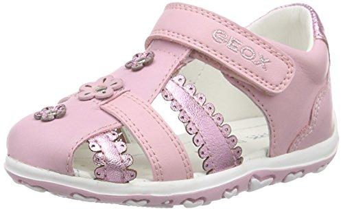 Geox B BUBBLE C, Baby Mädchen Lauflernschuhe, Pink (PINKC8004), 22 EU