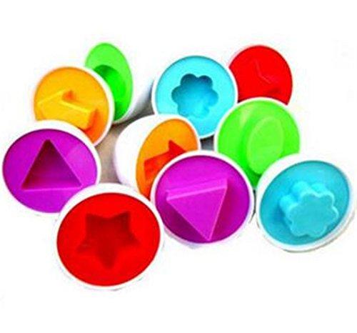 NWYJR L'associazione giocattoli educativi Set uovo saggezza uovo uovo trovare
