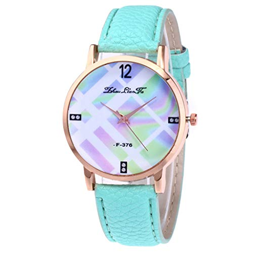 Damen Mode Casual Lederband Analoge Quarz Uhr YunYoud digitaluhr billige modische Elegante luxusuhren hochwertige titanuhren pendeluhr uhrenarmband