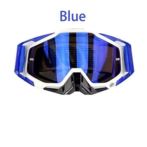 PZXY Skibrille Motocross-Schutzbrillen Mx Off Road Helme Schutzbrillen Ski Sport Gafas FüR Motorrad Dirt Bike Racing Google Brillen MäNner Frauen 4 Farbe (Google Gafas)