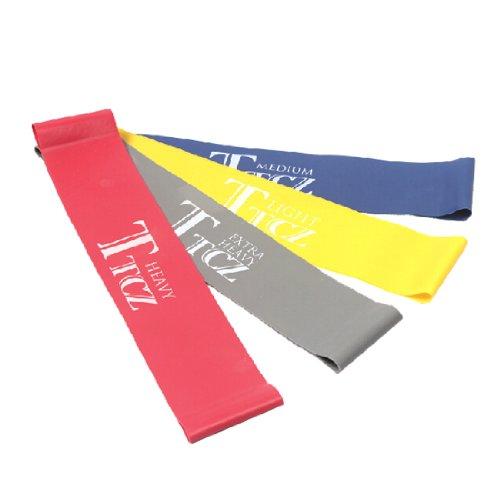 Bänder Widerstand Medium Schleife (Andux Zone Kautschukmilch Loop-Bänder/Fitnessbänder/Bodyband/Rubberband stellten für die Übungen (50cm)TLD-01)