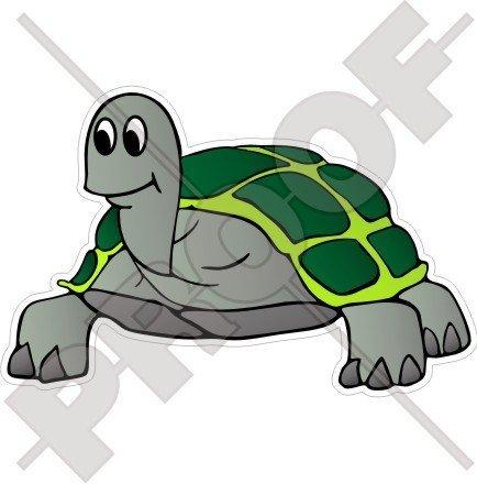 TORTOISE Land Schildkröte Reptil 130mm Auto & Motorrad Aufkleber, Vinyl Stickers
