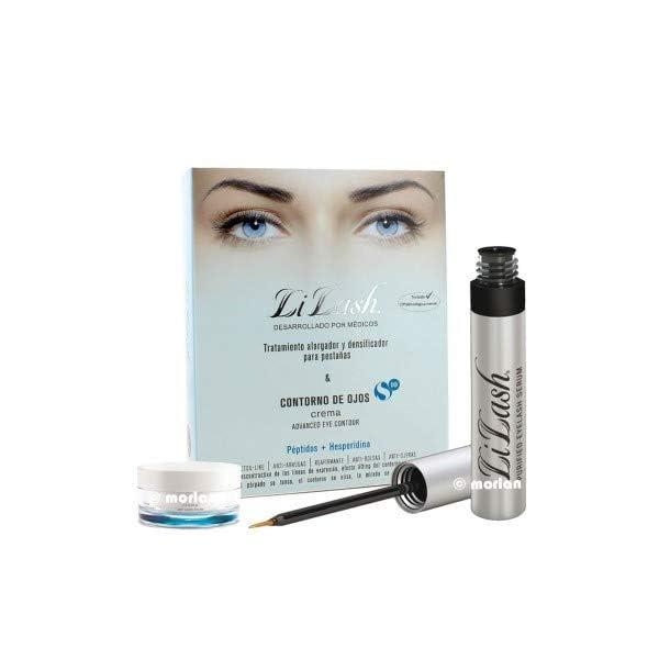 AG Farma PACK LiLash Serum Purificado Para Pestañas, 2ml+ Contorno Ojos S10, 15ml