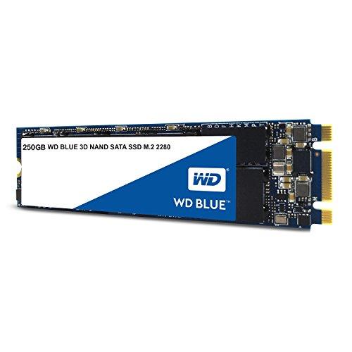 Western Digital WDS250G2B0B Blue 3D NAND SATA-SSD, 250GB