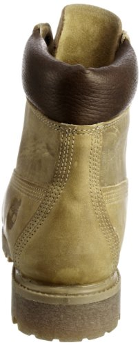 Timberland 6-Inch Premium Waterproof Boot 27094 Chaussures montantes homme Jaune (Wheat Burnished Full Grain)