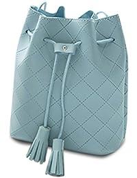 Majome Bolso simple del cuero de la PU de las mujeres con el bolso de hombro