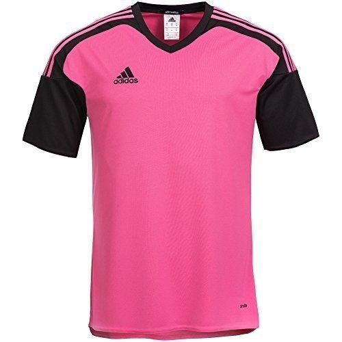 adidas Maglietta Uomo Team13 JSY Maglia Blu Maniche corte quadretti T-Shirt - rosa/nero, XL, poliestere