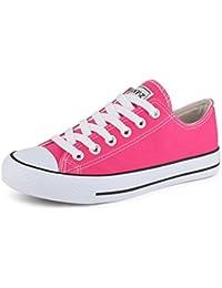 info for 7183a 3fc45 Zapatillas de Deporte Best-Boots de Mujer Zapatillas de Deporte Atletismo  Zapatos Cords Empeine