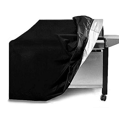 Pawaca Housse Barbecue Couverture de Gril Gaz (145x61x117cm), Anti-UV/Anti-l'eau/Anti-l'humidité Bâche Protection BBQ, pour Weber, Holland, JennAir, Brinkmann And Char