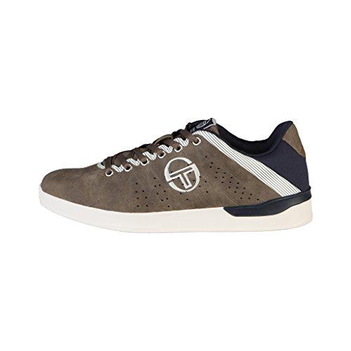 Chaussures baskets homme marrons Tacchini SANTIAGO_ST628804_04_Caribou Noir