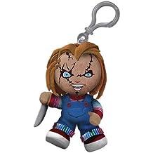 "Creepy Cuddlers Chucky 4"" Clip On Plush"