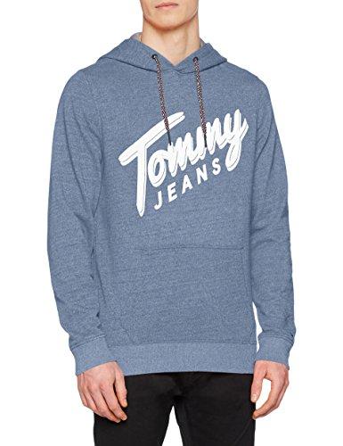 Tommy Jeans Men TJM Basic Logo Hd Hknit L/s 12 Hoodie