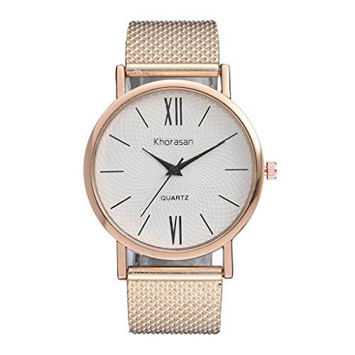XZDCDJ Damen Armbanduhr Herren Kunststoffband Quarzuhr Einfache römische Skala Uhr Damenuhr Damen Uhren Billig - Billig-digital-skala