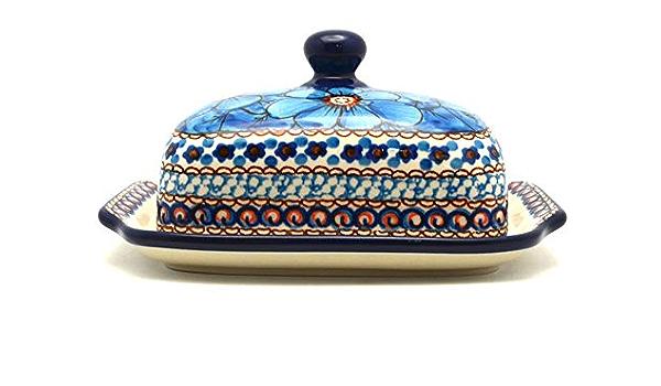 Polish Pottery Butter Dish Unikat Signature U408c Amazon Co Uk Kitchen Home