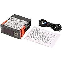 Delicacydex MH1210N AC 220V Controlador de Temperatura de Salida Dual Controlador electrónico de Temperatura con Pantalla