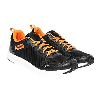 PUMA Men's Movemax IDP Black-Vibrant Orange Sneakers-6 UK/India (39 EU) (4060979705227)