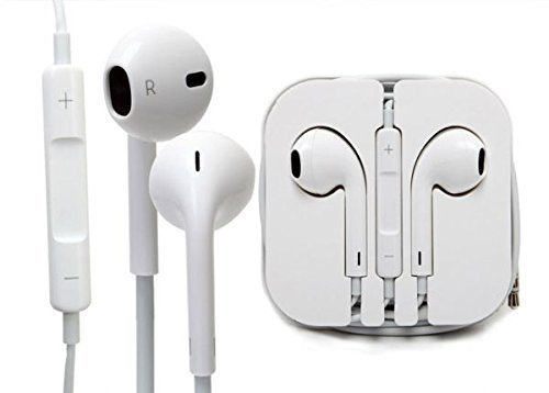 Paracops- 3.5mm Earpods Handsfree Earphone Stereo Headset mic for Apple iPhone, iPad