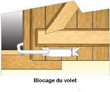 BLOQUE VOLET BLANC: 2 Arrêts de volet avec poignée pour ouvrir et fermer facilement tous volets battants sans se pencher. Blocage des volets ouverts. Facilité et sécurité au quotidien.