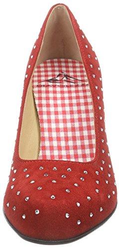 Diavolezza Elke, Escarpins femme rouge (Red)