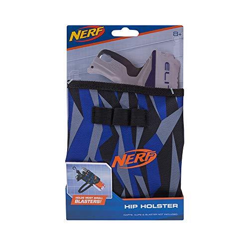 Nerf Elite Hüftholster 11503 verstellbarer Gurt aus hochwertigem Nylonmaterial im stylischen Nerf Elite Design, bequemer Tragekomfort, zum Aufbewahren von Blaster und Darts -