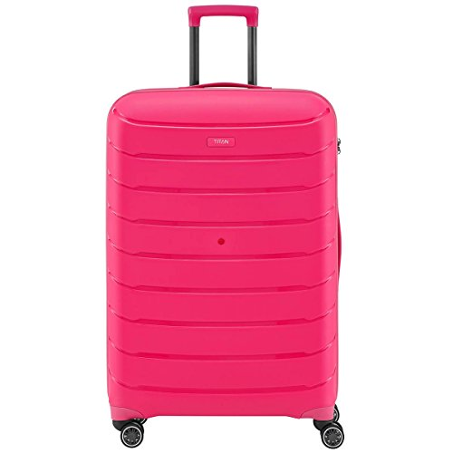 TITAN LIMIT, 77 cm, Trolley, hot pink, 4 Rollen - (823404-17)