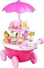 Shreeji Ice Cream & Sweets Cart with Music Role Play Toys