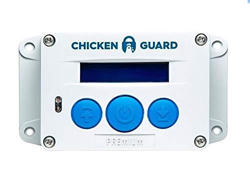 ChickenGuard Premium Automatische Türöffner Für Den Hühnerstall, Automatische Hühnerklappe Mit Timer Und Lichtsensor, Direkt Vom Hersteller