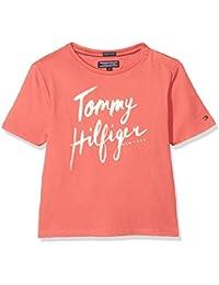 Tommy Hilfiger AME Hilfiger Tee S/S, Camiseta Para Bebés
