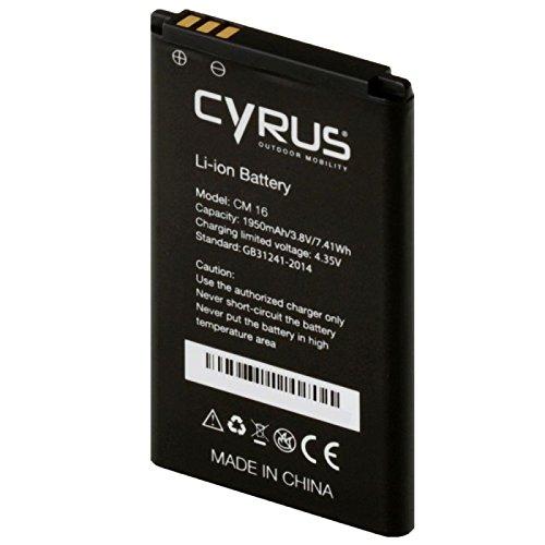 Cyrus CYR10054 Akku für CM16