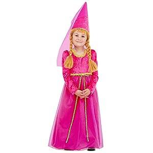 WIDMANN - Disfraz de princesas y príncipes para niños, multicolor, 116 cm/4 - 5 años, 36985