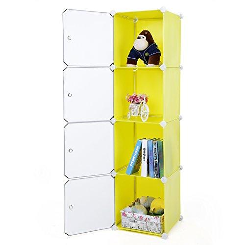 Songmics estanter a armario ropero aparador o zapatero - Armarios por modulos ...