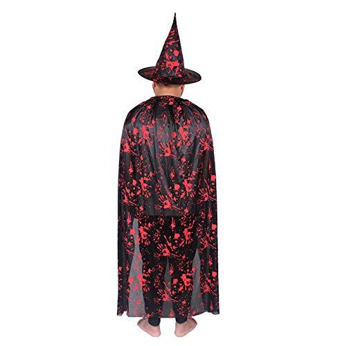 Halloween Cloak Horror Thema Make-Up-Kostüme Festival Themen Mantel (Verschiedene Optional),1