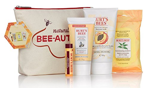 burt-s-bees-naturally-beautiful-balsamo-labial-locion-corporal-esfoliante-toallitas-neceser-set
