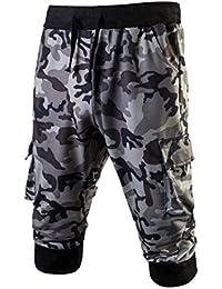 Lannister Hombres Hombres Pantalones Cortos De Bermudas Corto Pantalón  Camuflaje Chinos Ropa Festiva De Moda Pantalones 697ec79f1cdb